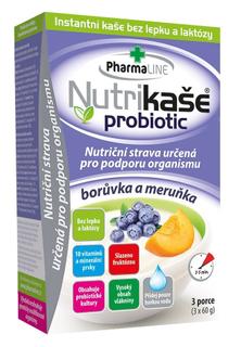Mogador Nutrikaše probiotic meruňka + borůvka 180g (3x60g)