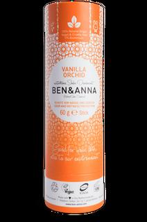Ben & Anna Tuhý deodorant BIO 60 g - vanilková orchidej