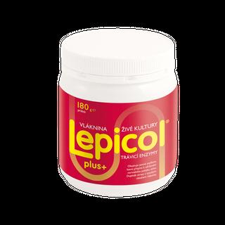 Lepicol Plus trávící enzymy prášek 180g