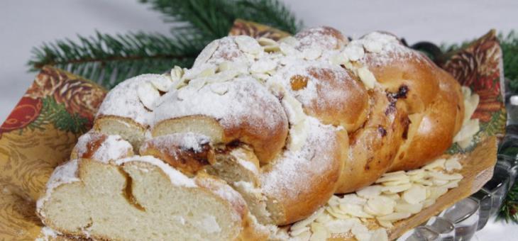 Recept Vánočka ze špaldové biomouky