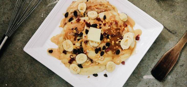 Recept Pohankovo-proteinové palačinky