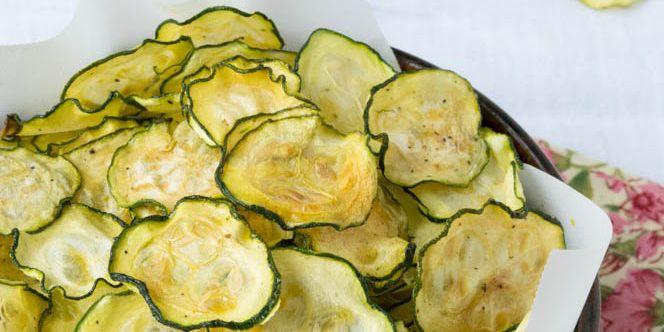 Recept Cuketové chipsy s citrónovým pepřem