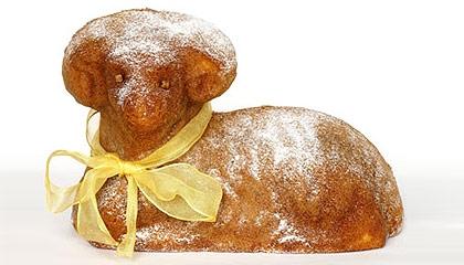 Recept Tradiční velikonoční beránek