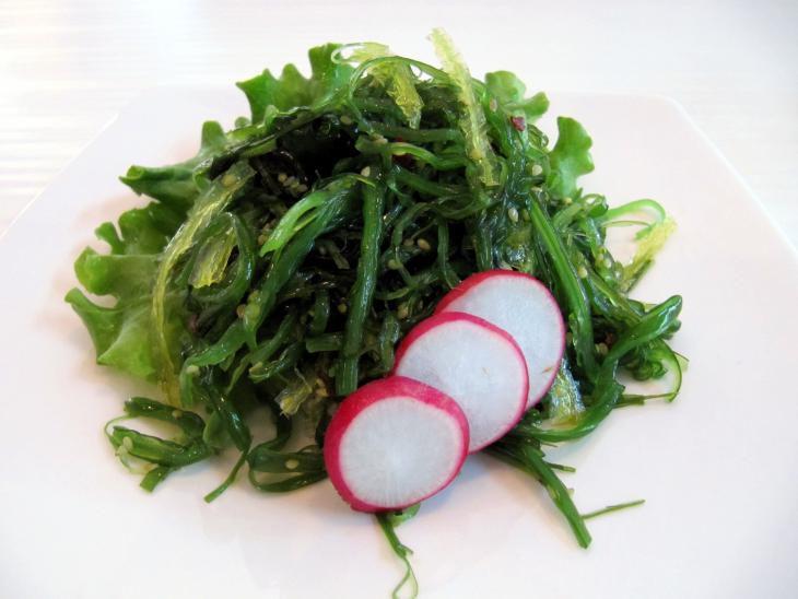 Recept Salát z mořských řas