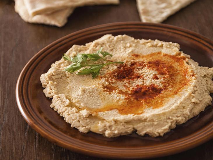 Recept Hummus - cizrnová pomazánka ke grilování