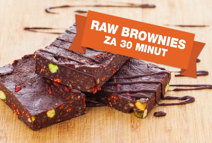 Recept Raw brownies