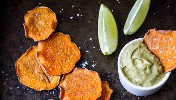 Recept Pečené kořeněné batátové chipsy