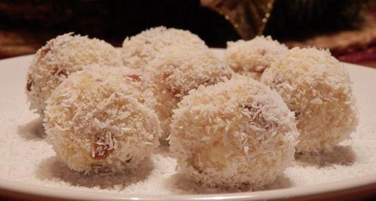 Recept Jáhlové koule s kokosem