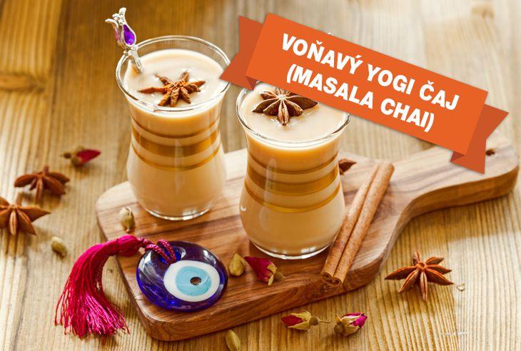 Recept Voňavý Yogi čaj (Masala Chai)