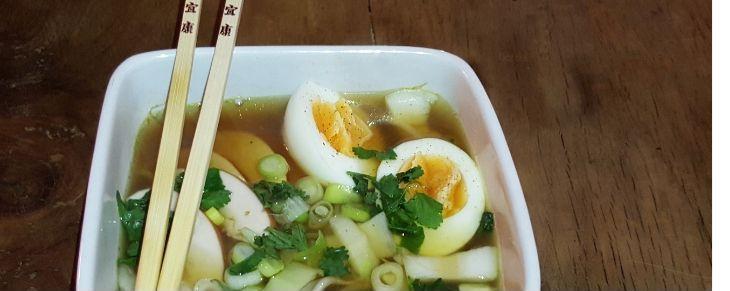 Recept Japonská miso polévka