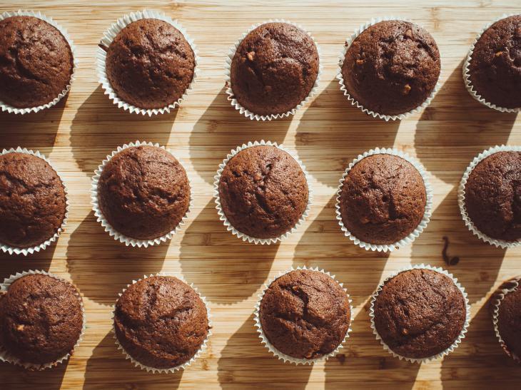 Recept Skořicové muffiny