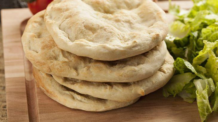 Recept Bezlepkový pita chléb