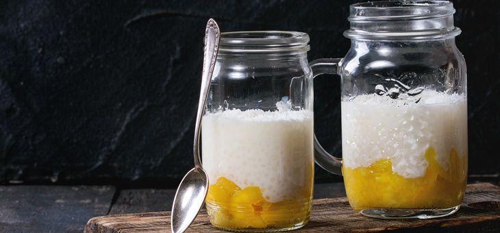 Recept Tapiokový pudink s ananasem