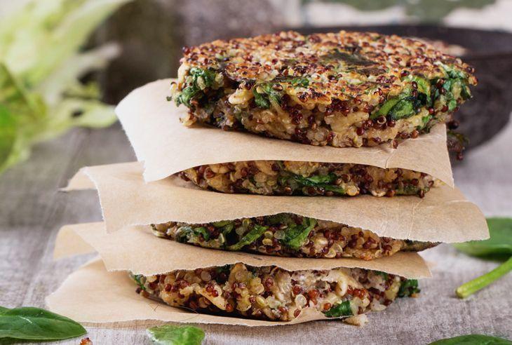 Recept Veganský burger z quinoy a batátů