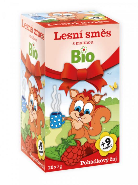 Apotheke Pohádkový čaj Lesní směs s malinou Bio 20x2g