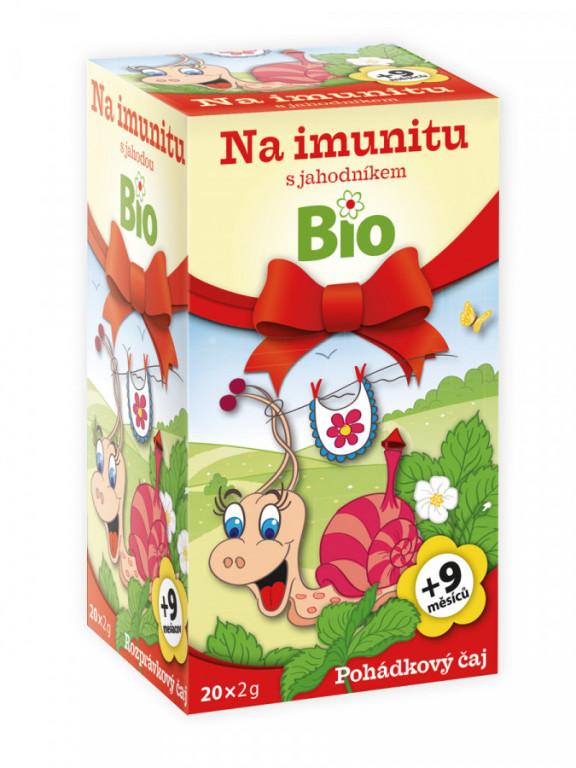 Apotheke Pohádkový čaj na imunitu s jahodníkem Bio 20x2g