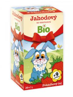 Apotheke Pohádkový čaj jahodový se smetanou Bio 20x2g