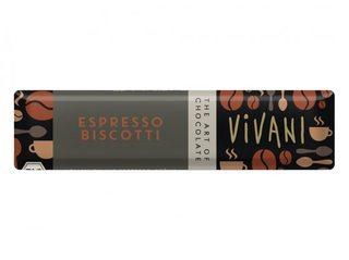 Vivani Tyčinka čokoládová mléčná espresso 40g BIO