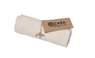 Casa Organica Plátěná kuchyňská utěrka (1 ks)