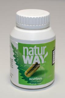 Natur Way Bylinné kapsle Kopřiva, 100 kapslí