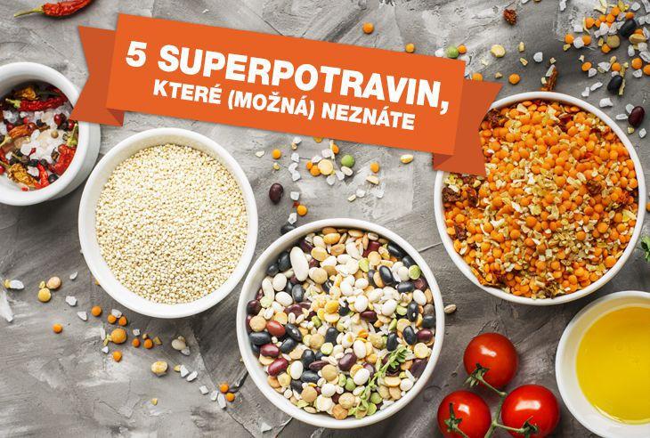 Článek 5 superpotravin, které (možná) ještě neznáte