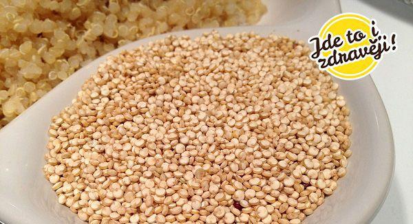 Článek Quinoa kraluje stravování v kosmu i na zemi