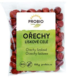 PROBIO Lískové ořechy celé 150 g