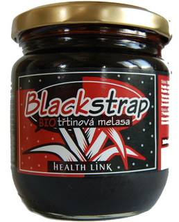 Health Link Třtinová melasa Blackstrap 360ml Bio