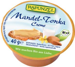 Rapunzel Bio Pomazánka mandlová Tonka 40g
