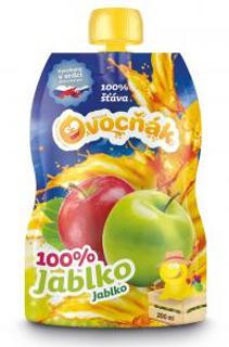 Ovocňák Mošt jablko 100% 200 ml