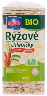 Racio Bio Rýžové chlebíčky s amarantem 140g