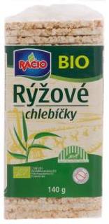 Racio Bio Rýžové chlebíčky 140g