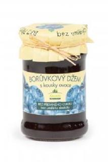 Kvasnička borůvkový džem bez přidaného cukru 275g