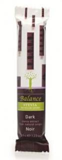 Balance Hořká čokoláda se stévií s pomerančem bez přidaného cukru 35g