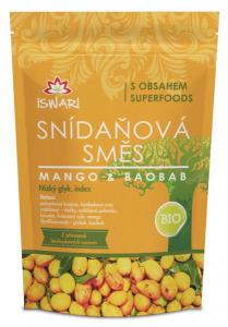 Iswari Bio Snídaňová směs mango a Baobab 300 g