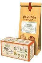 GREŠÍK Devatero bylin Hepčík s echinaceou čaj bal. 50g