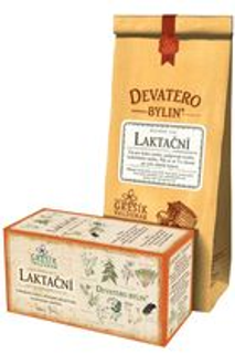 GREŠÍK Devatero bylin Laktační čaj bal. 50g