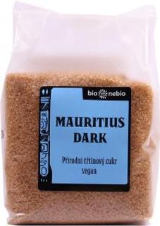 Bio Nebio Přírodní třtinový cukr Mauritius Dark 400 g