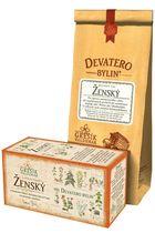 GREŠÍK Devatero bylin Ženský čaj n.s. 20 x 1,5 g