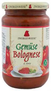 Zwergenwiese Omáčka boloňská 350ml Bio