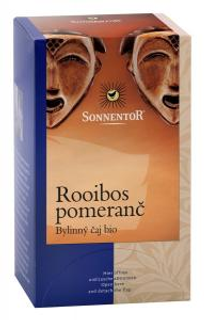 Sonnentor Čaj Rooibos pomeranč 20x1,5g Bio