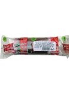 Bioprodukt Jablečné trubičky s jahodovou polevou 24g