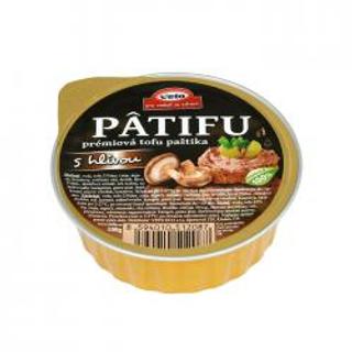 Patifu tofu paštika s hlívou 100g BLP
