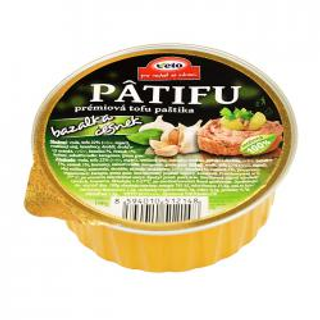 Patifu tofu paštika bazalka-česnek 100g BLP