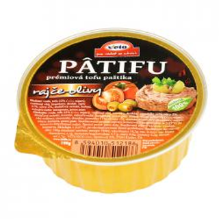Patifu tofu paštika rajče-olivy 100g BLP