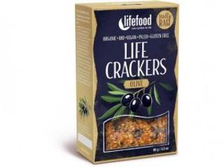 Lifefood Life Crackers olivové 90g Bio