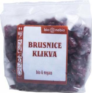 Bio Nebio Sušené brusinky nesířené 200 g Bio