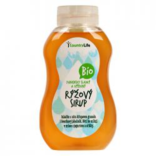 Country Life Sirup rýžový Bio 250 ml