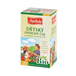 APOTHEKE Bio dětský čaj se šípkem n.s. 20x2g