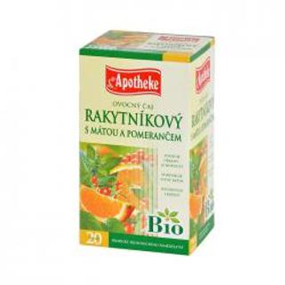 APOTHEKE Bio rakytníkový čaj (máta+pomeranč) n.s. 20x1,8g
